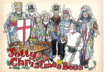 A picture for Potterne-Mummers